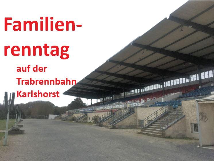 Familienrenntag Trabrennbahn Karlshorst